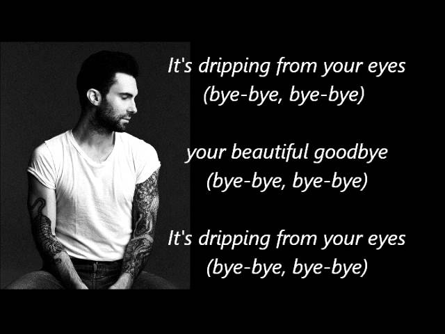 maroon-5-beautiful-goodbye-lyrics-louisedays