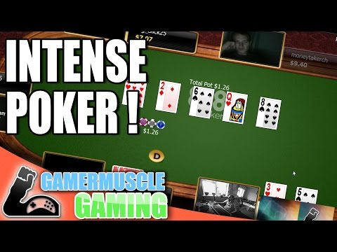 THE MOST INTENSE MICRO STAKES POKER GAME IN HISTORY - GamerMuscle Gaming
