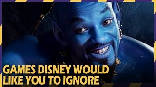 TOP 10 GAMES DISNEY WOULD LIKE YOU TO IGNORE | #ZOOMINGAMES