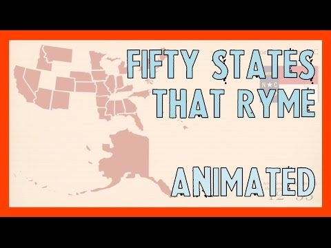 Fifty States That Rhyme II (improved)