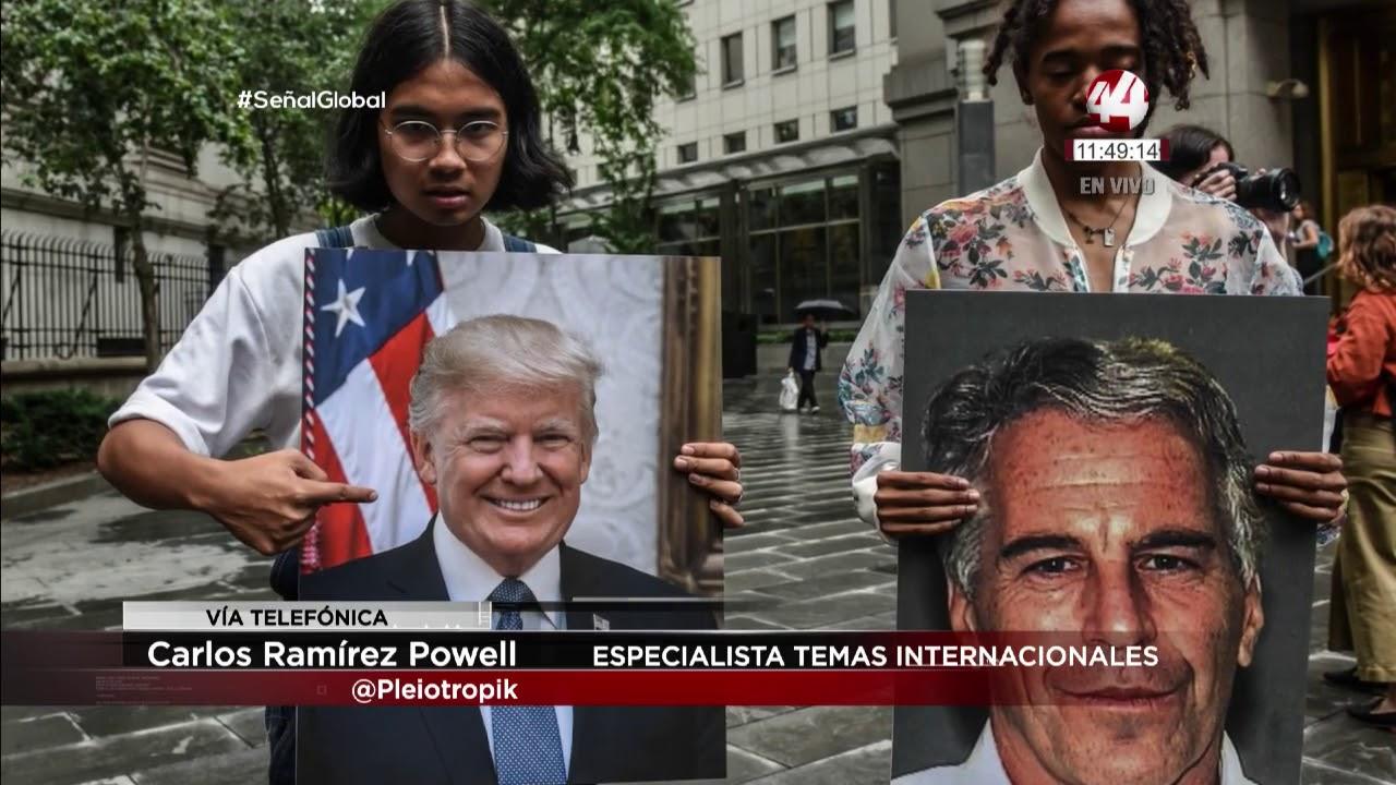 Carlos Ramírez Powell: caso Jeffrey Epstein