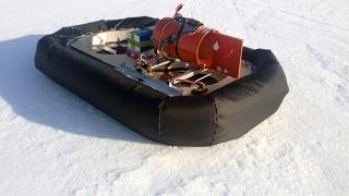 видео Делаем ховеркрафт, лодку на воздушной подушке