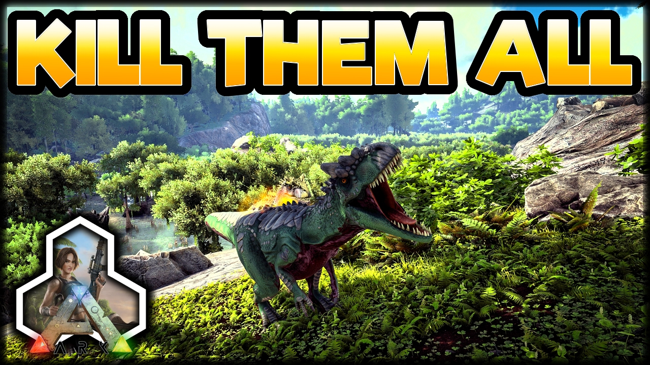 ark kill all dinos command