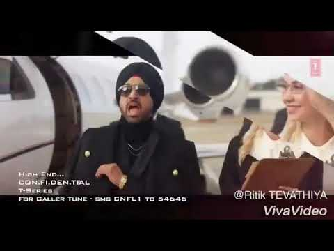 Kam Mitra De Wade Baliye | High End | Diljit Dosanjh | What's App Status Video