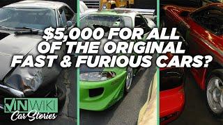 I found ALL the original Fast & Furious cars for $5,000!