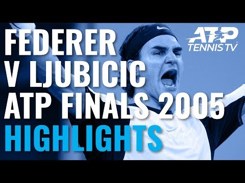 Extended Highlights: Federer vs Ljubicic | ATP Finals 2005