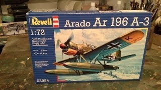 Building Review: Revell Arado Ar 196 A-3 in 1/72 scale Part I
