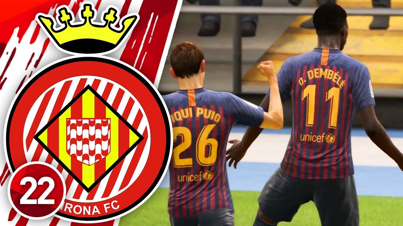 FIFA 19 YOUTH ACADEMY CAREER MODE #22 | DESTROYED BY DEMBELE!
