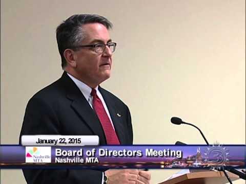 Nashville MTA Board of Directors Meeting