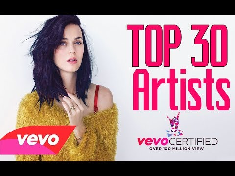 Top 30 Vevo Artists Who Have At Least 10+ Vevo Certified Music Videos