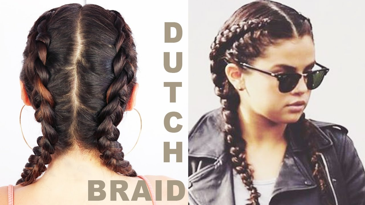 HOW TO DUTCH BRAID YOUR OWN HAIR FOR BEGINNERS | EMAN ...
