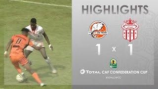 FC San Pédro 1-1 Hassania Agadir  HIGHLIGHTS   Match Day 3   TotalCAFCC