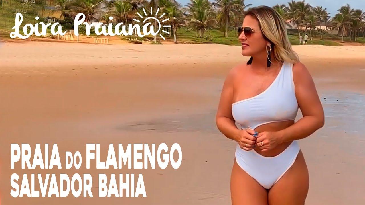 Praia do Flamengo em Salvador Bahia!!!