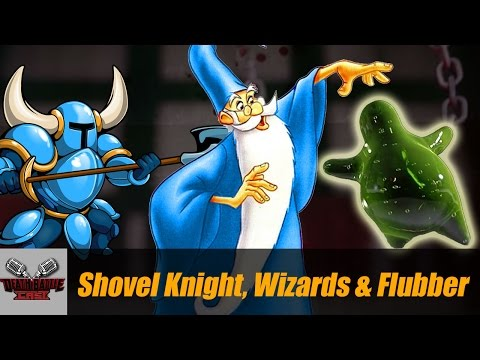 SHOVEL KNIGHT, WIZARDS & FLUBBER | DEATH BATTLE Cast