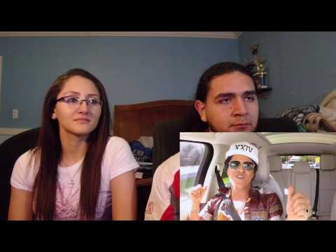 Bruno Mars Carpool Karaoke Reaction Video!!!