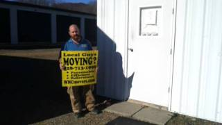 Asheville Moving Company at Green Acres Storage Mars Hill NC