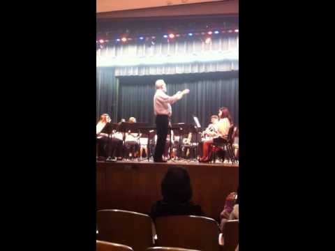 Lyman C Hunt Middle School Spring Concert 2013