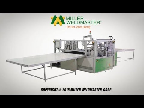 Automatically Weld And Grommet Banners