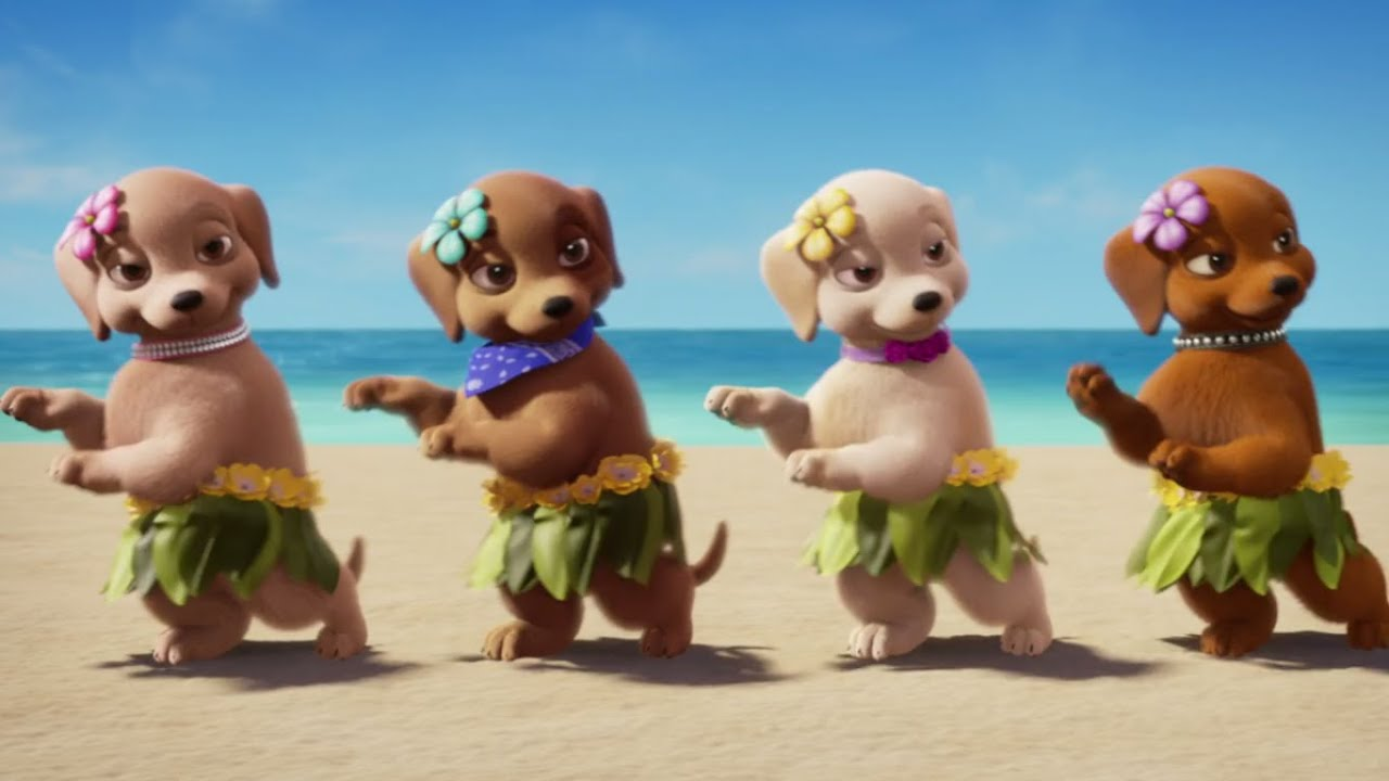 Wallpaper Perritos 3d Barbie Amp Her Sisters In A Puppy Chase Official Trailer