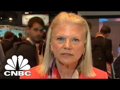 IBM CEO Ginni Rometty: Our Blockchain Runs On Our Public Cloud | CNBC