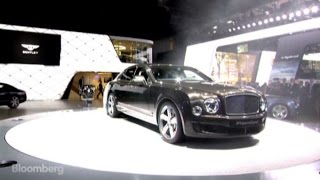 Paris Motor Show: Bentley Unveils the World's Fastest Ultra-Luxury Sedan