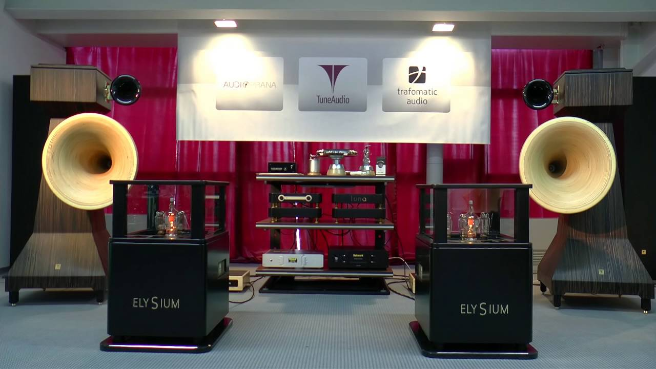 High End 2016 Munich : Tune Audio Anima - The best horn loudspeakers at the  High end society show!