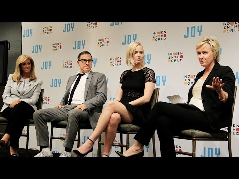"Jennifer Lawrence and David O. Russell on their new film ""Joy"""