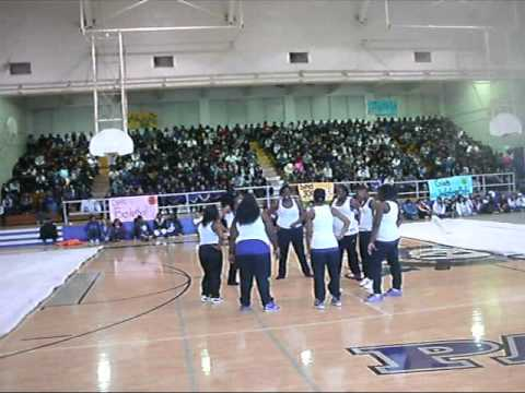 Pacific High School Girls Step 2010-11