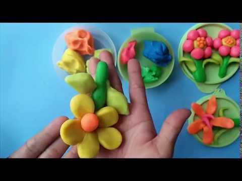 Cara Mudah Membuat Bunga Melati Dari Plastisin Youtube