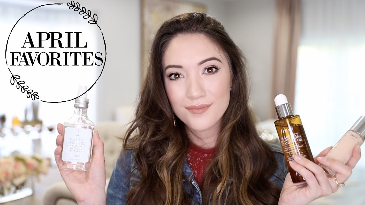 My Current Favorite Beauty Products + Fashion & Entertainment for April!