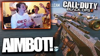 RED HOUSE HITS AIMBOT TRICKSHOTS! - BO2 Trickshotting