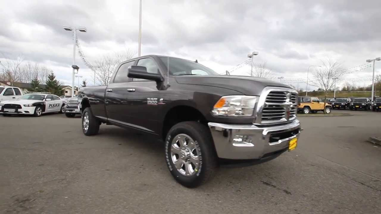 2014 dodge ram 2500 big horn crew cab granite eg206068 everett snohomish youtube. Black Bedroom Furniture Sets. Home Design Ideas