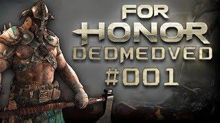 For Honor - Бесплатно раздача игры для всех ! Обучение игре. Первая миссия в паре за викингов.
