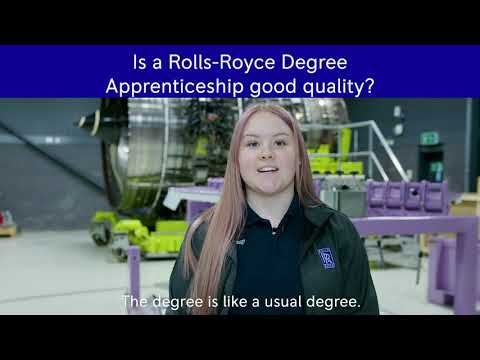 Rolls-Royce | Get the degree, not the student debt
