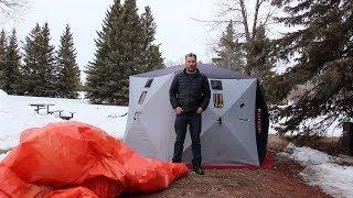 8 Weeks Winter Camping - Week 6 In Tent, New Noisy Neighbours