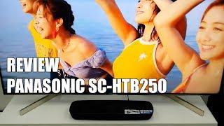 Review Panasonic SC-HTB250 Nueva Barra de Sonido Bluetooth 2018