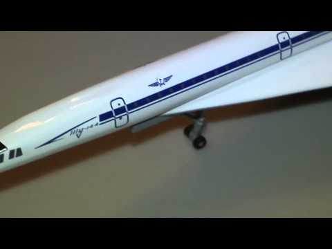 Episode 243: Herpa Wings 523080 Aeroflot Tupolev Tu-144 Reg. CCCP-77112 !/500 Scale