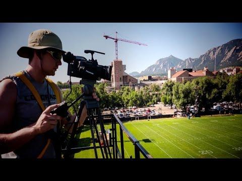 Colorado's Emmy Award-winning football video staff chronicled