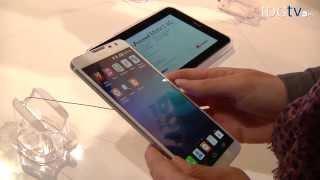 CES 2014: Huawei® Ascend Mate 2, phablet con capacidad para cargar otros dispositivos