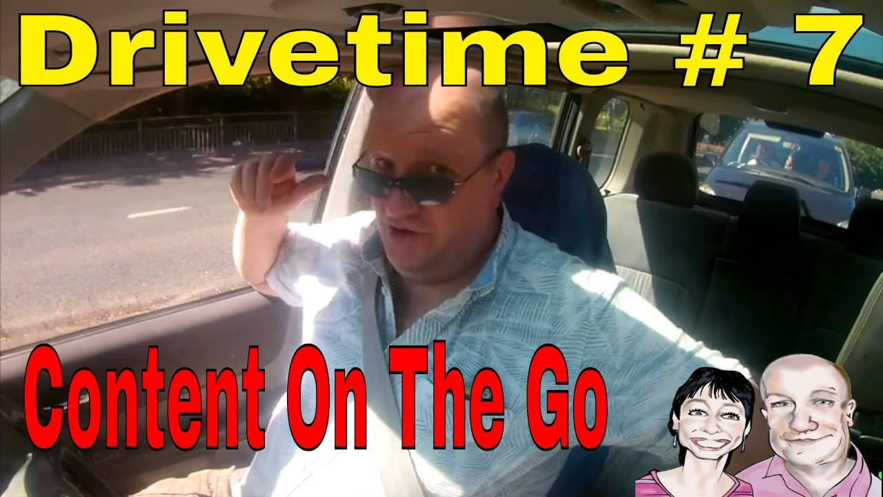 Drivetime # 7.  Content on  the Go