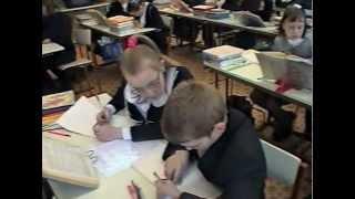 Парная работа на уроке в 3 классе