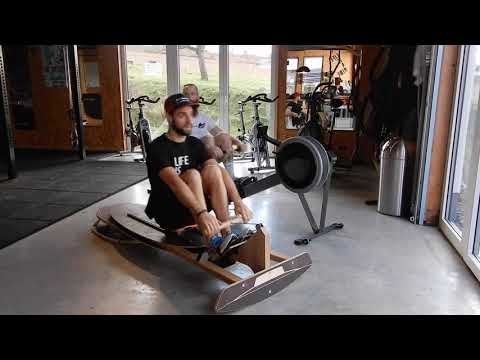 "Video: Sensosports® Rowing Machine ""DryRow"""
