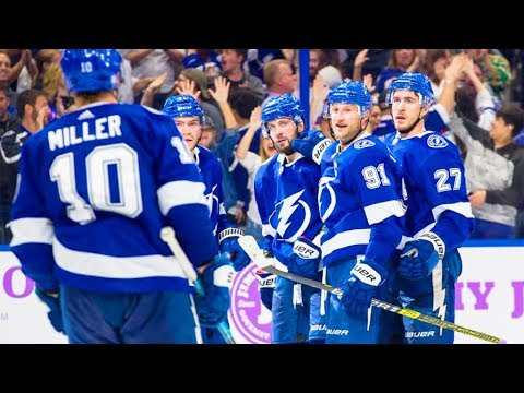 Dave Mishkin calls Lightning highlights from dominant win over Oilers
