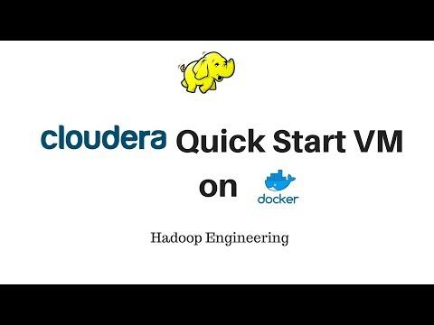 Cloudera quickstart VM on Docker image