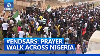 Youths Hold Prayer Walk In Ogun, Imo, Niger, Delta, Rivers