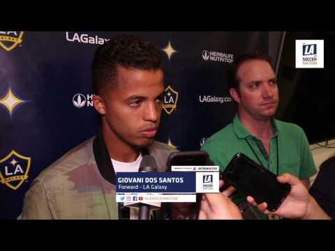 Post-Match Interview LAvVAN: Giovani Dos Santos