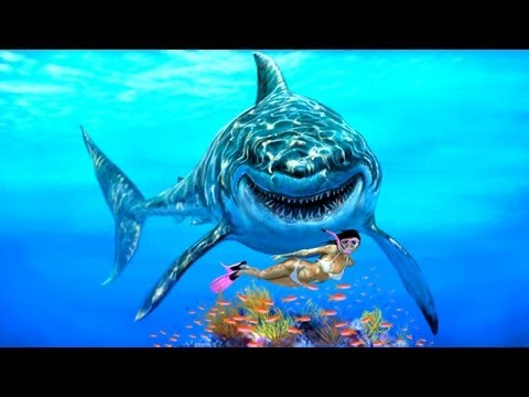 Great White Shark Speed Painting