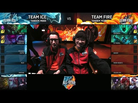 Baker (Bjergsen + Faker ) - Team Ice vs Team Fire - Tandem M