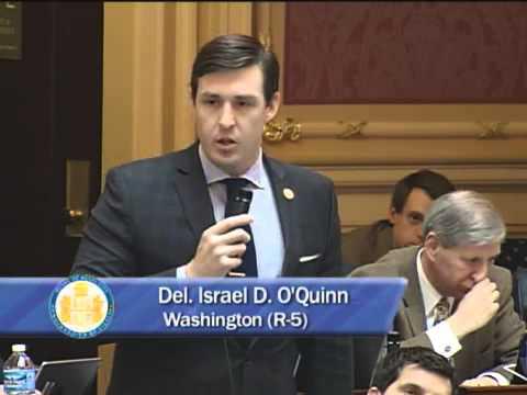 Israel O'Quinn Defends Jobs in Southwest Virginia