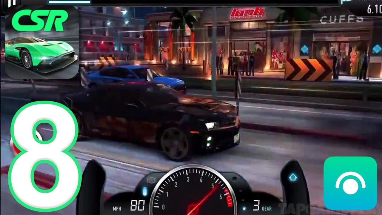 CSR Racing - Gameplay Walkthrough Part 8 - Tier 3 (iOS, Android)